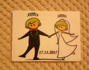 Magnet for the wedding