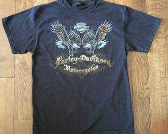 Vintage 90s Harley Davidson T-shirt.