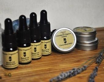 Beard Care Kit -  Natural and Organic beard balm and beard oil kit