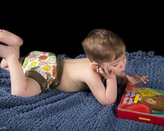 Night time diaper cover