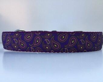 Pretty in Purple Dog Collar