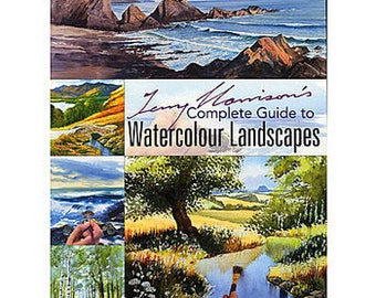Complete Guide to Painting landscapes in Watercolour - Search Press Terry Harrison books