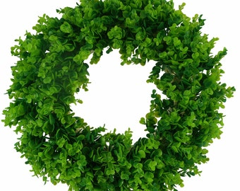 """28 """" Boxwood Wreath - Very Pretty - Perfect for Year Round"""