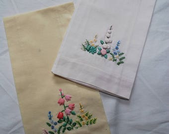 Pair of Pretty Guest Towels