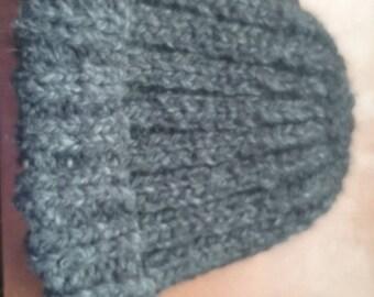 Handmade Rib Knit Beanie
