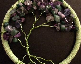 Green and purple tree of life