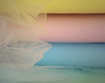 4 Tulle colour samples