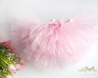 Pink tutu, baby pink tutu,tutu skirts, pink tutu skirts, toddler tutus, birthday girls tutu, baby tutu, light pink tutu