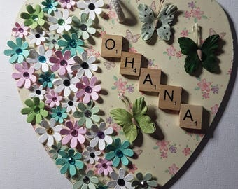 Wooden Hearts - Large - For that special person or occasion
