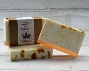 Orange Shea Butter Soap