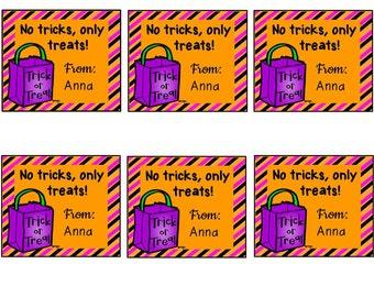 Halloween Enclosure Cards