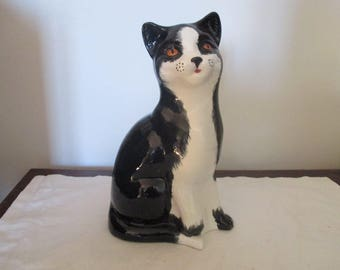 Large Price Kensington Black Cat - 1930s