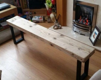 Industrial Style Bench