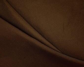 Dark Brown Polyester Fabric
