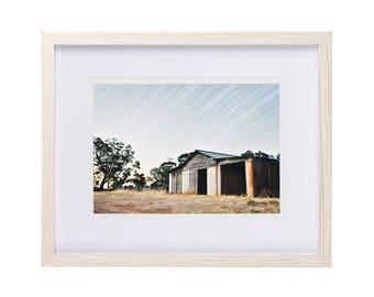 Framed Print | The Shed