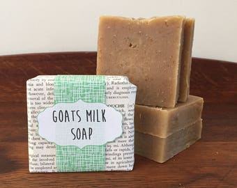Handmade Goats Milk Soap with Oatmeal