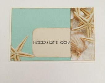 Handmade Card - Happy Birthday (HB06)