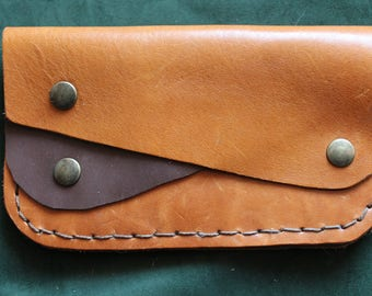unisex handmade leather wallet