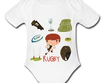 Baby kids Rugby bodies