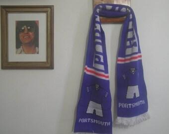 Vintage Portsmouth FC Scarf