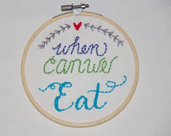 When Can We Eat - Needlepoint
