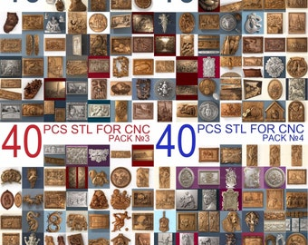 160 3d stl models for cnc router