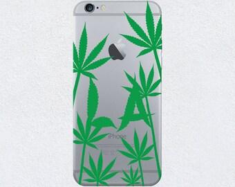 Los Angeles, LA Leafy Trees Camo iPhone Case