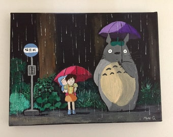 My Neighbor Totoro painting