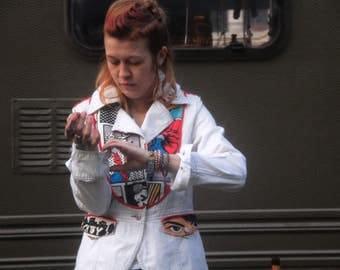 Punk Rock Comics Super Hero jacket