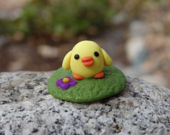 Tiny Baby Chick Miniature