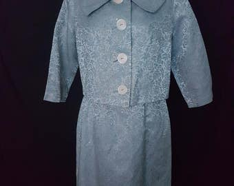 1950s fully lined dress suit