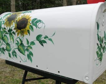 Sunflowers Mailbox