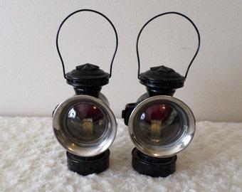 Dietz Eureka Oil Driving Lamps