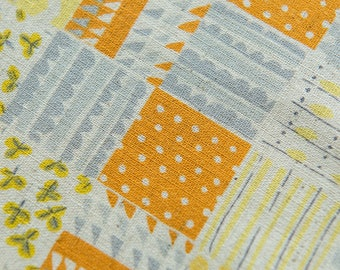 Nursery Patch in Yellow by Heather Ross for Kokka by the Fat Quarter (FQ)