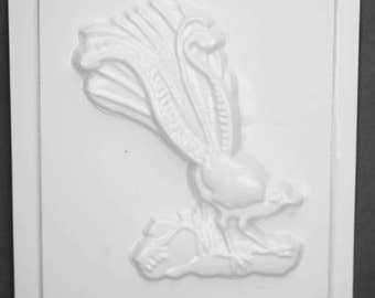 Small Plastic Mould PM 2294 Lyrebird 11cm x 20cm