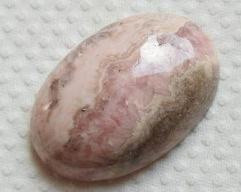 """RHODOCHROSITE One Piece Smooth Oval Shape Cabochon """"One Side Finished"""" Good Quality 100% Natural Wholesale Price New Arrival"""