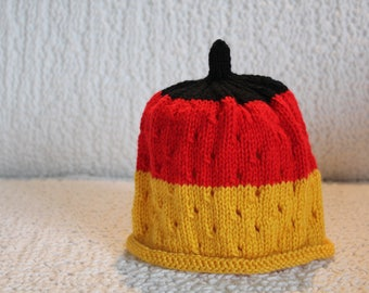 Baby beanie, German colours, baby hat