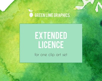 Extended Licence for commercial use