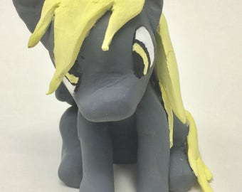 MLP Derpy Hooves Handcrafted Custom made Figurine