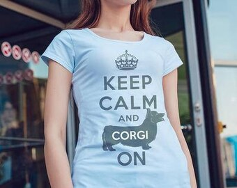 Kotenokgaff Premade Design - Corgi Keep Grey