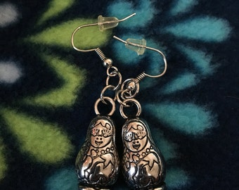 Russian/Matryoshka Doll Earrings