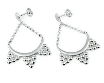 Boho Earrings, Bohemian Earrings Silver, Dangle earrings, Boho Jewelry, Boho Earrings, Ethnic jewelry, Ethnic earrings, Boho Gift