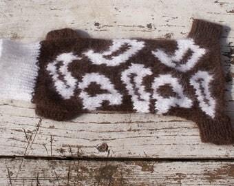 Sweater for a small dog / Свитер на маленькую собачку