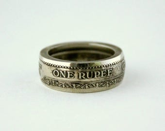 "Coin ring ""2500 years of Buddhism"""