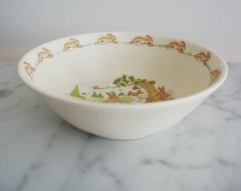 Bunnykins Royal Doulton Bowl Bone China
