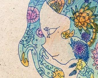 The ocean (mini letter)