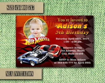 Hot wheels party Etsy