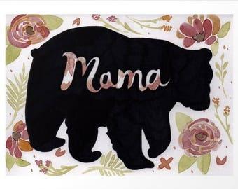 Mama Bear (print)