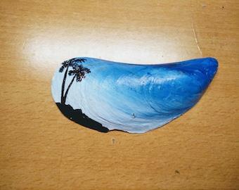 Hand painted seashells!!!