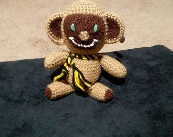 Handmade Crochet Monkey